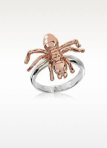 Two Tone Brass Spider Ring - MM6 Maison Martin Margiela