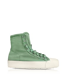 Mint Green Canvas Sneakers - MM6 Maison Martin Margiela
