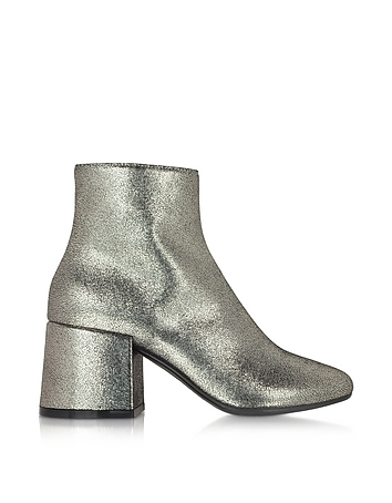 Platinum Leather Ankle Boot