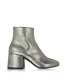 Platinum 皮革踝靴 - MM6 Maison Martin Margiela 梅森·马丁·马吉拉