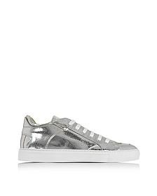 Silver Low Top Sneaker - MM6 Maison Martin Margiela