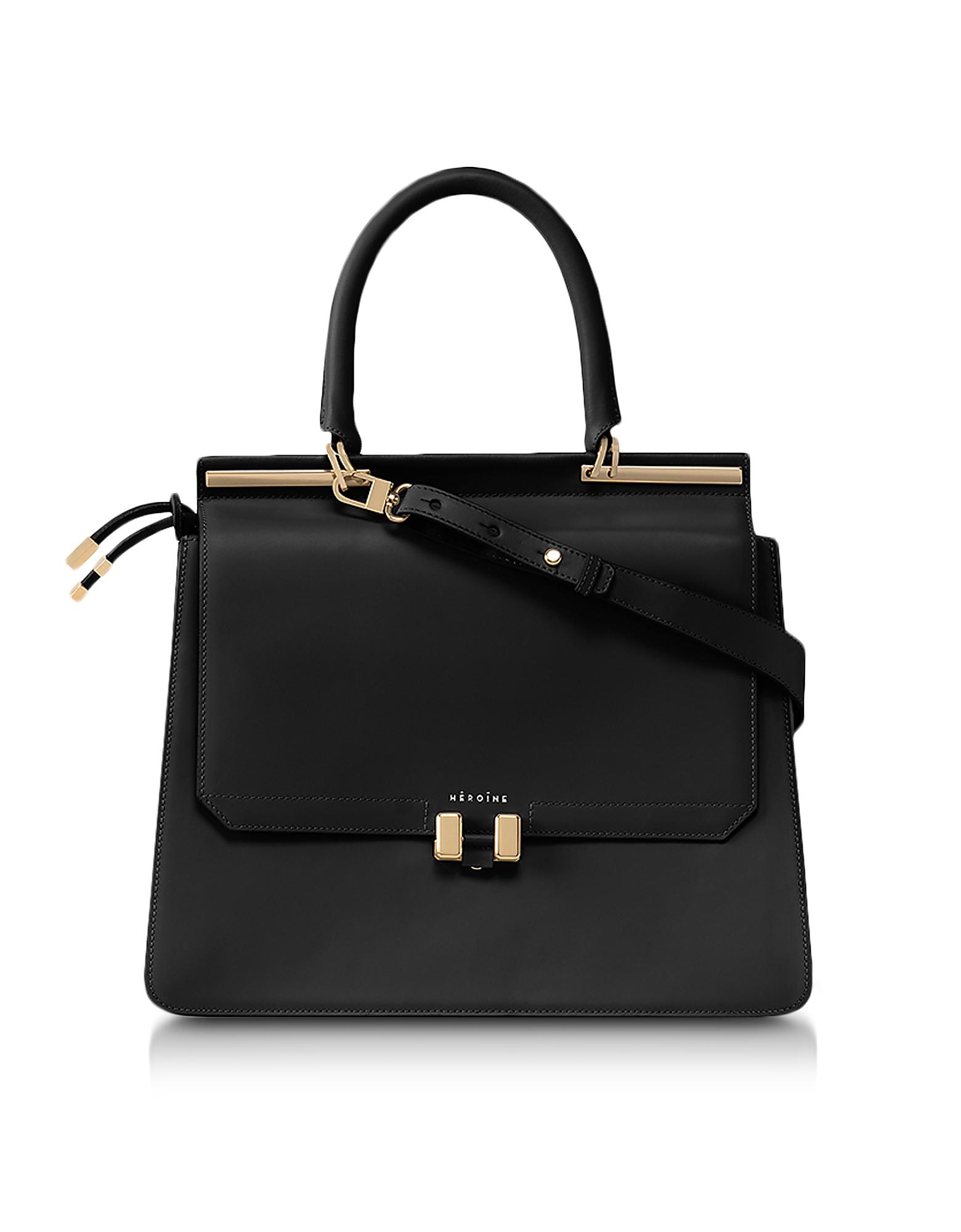 Maison Heroine Designer Handbags, Marlene Laptop Briefcase 13