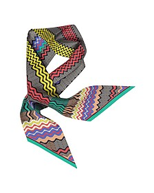 Foulard in Seta Stampa Waves - Missoni