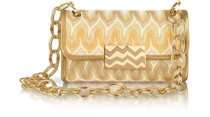 Metallic Weave Shoulder Bag - Missoni