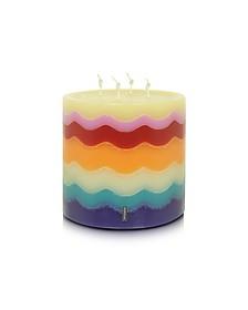 Home- Bougie en Cire à Rayures Multicolore - Missoni