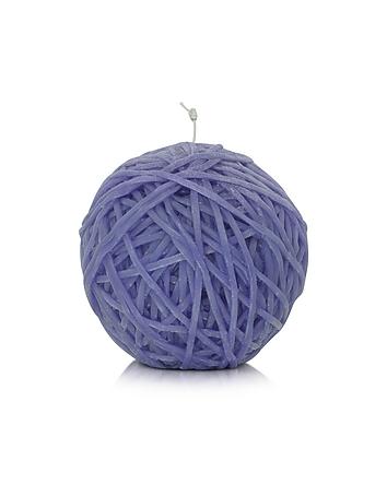 Home - Gomitolo Purple Wax Candle