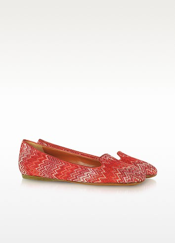 Metallic Knit Loafer - Missoni