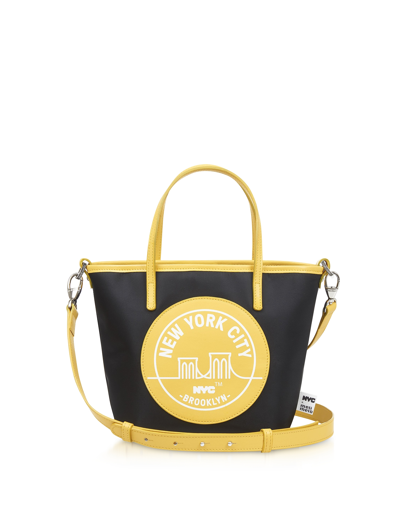 Meli Melo Handbags, Brooklyn Yellow Paige Mini Tote Bag