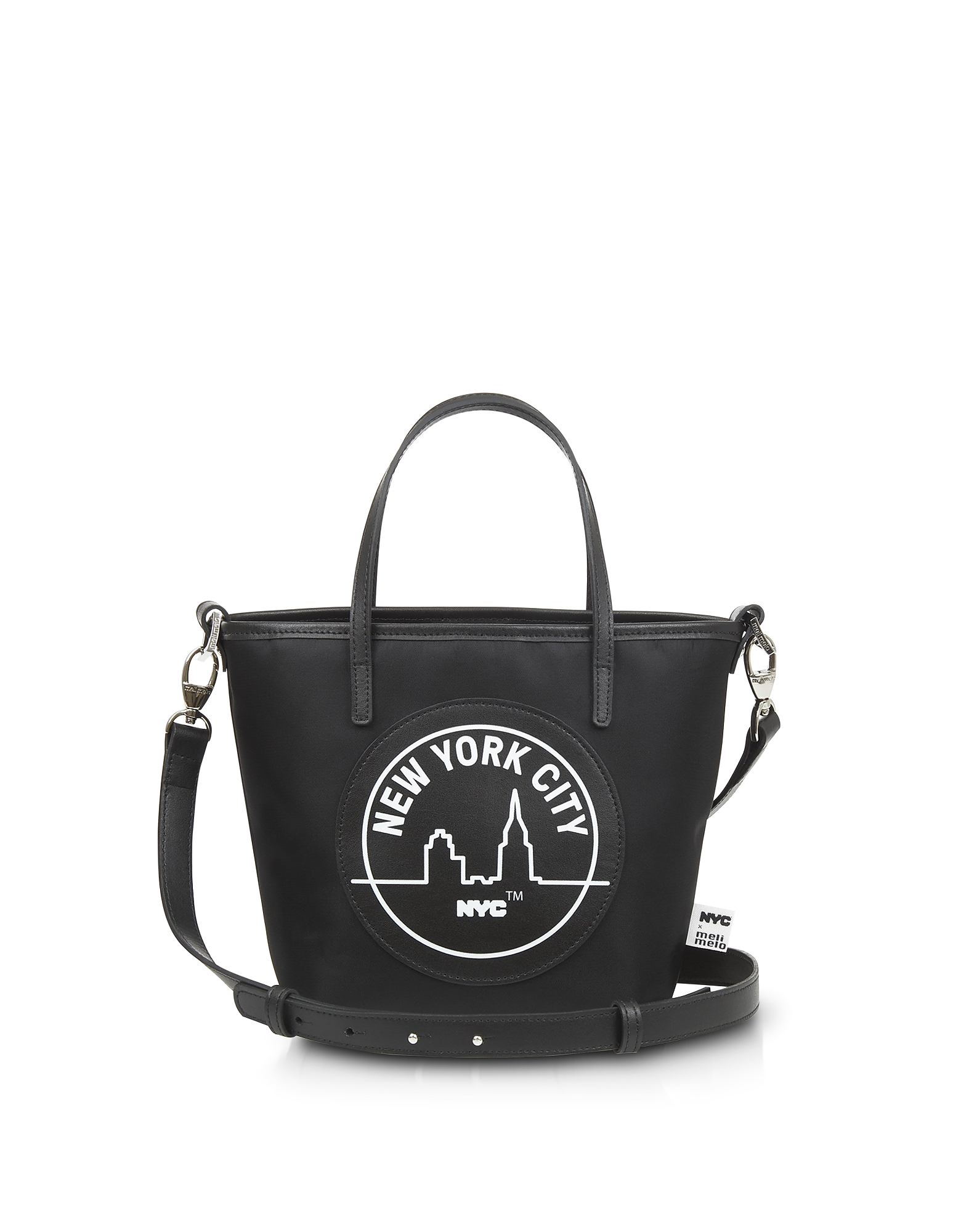 Meli Melo Designer Handbags, Black Paige Mini Tote