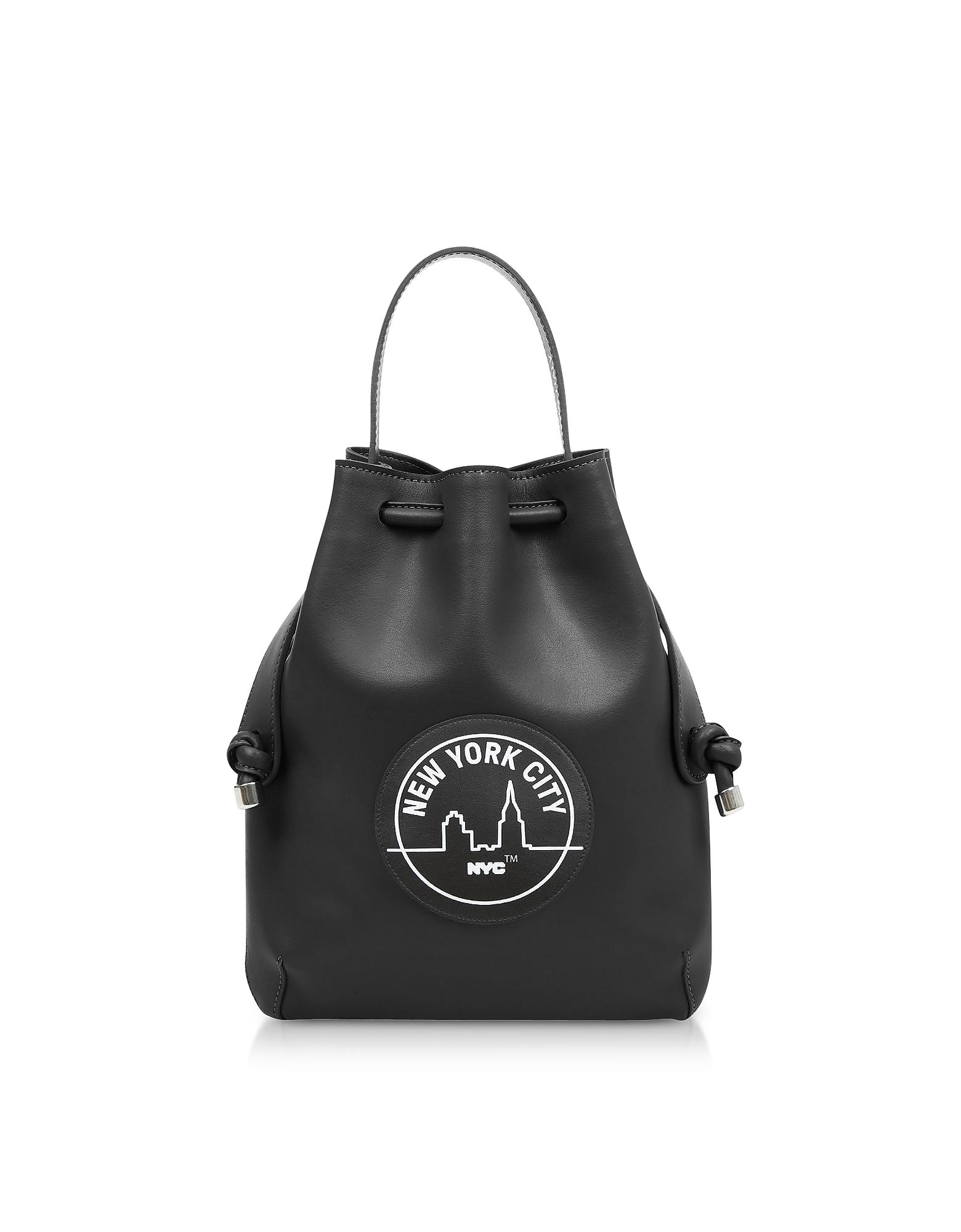MELI MELO Black Nyc Briony Mini Backpack