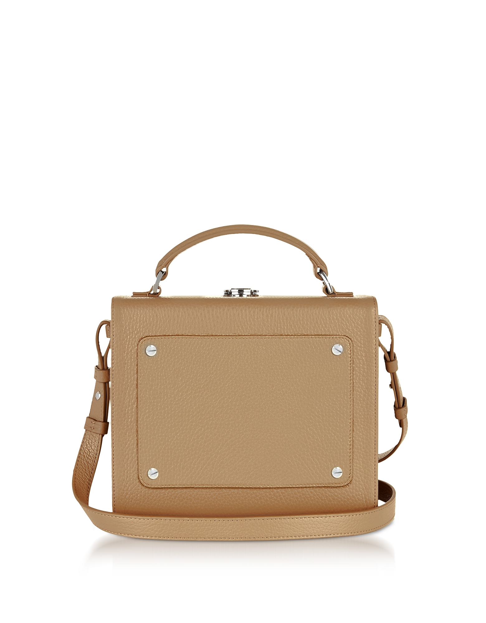 Meli Melo Handbags, Light Tan Leather Art Bag
