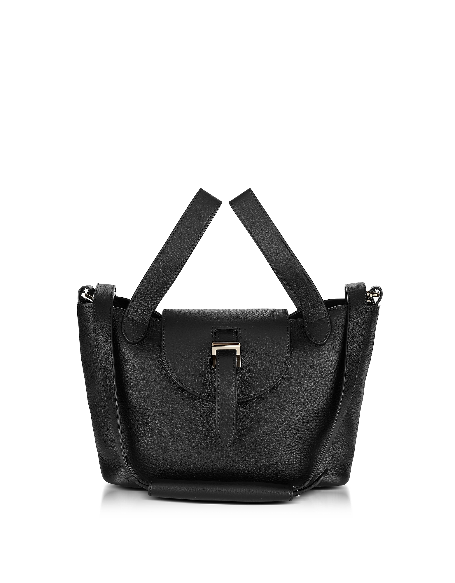 Image of Meli Melo Designer Handbags, Black Thela Mini Cross Body Bag
