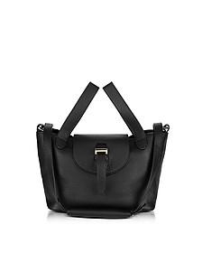 Black Thela Mini Cross Body Bag - Meli Melo