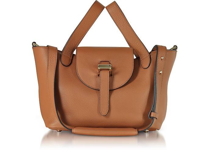 Tan Thela Mini Cross Body Bag - Meli Melo