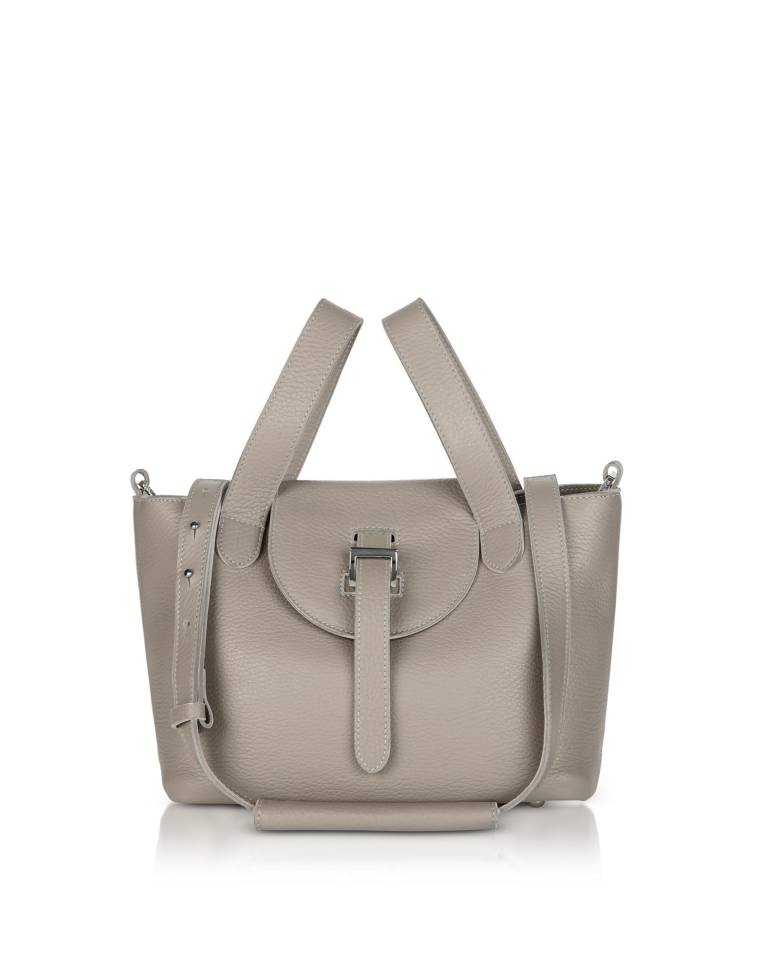 Meli Melo Handbags, Taupe Thela Mini Cross Body Bag