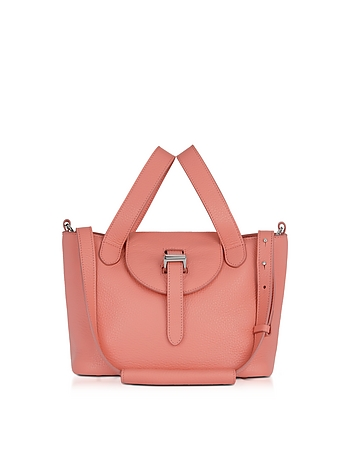 Meli Melo - Persimonio Pink Thela Mini Cross Body Bag