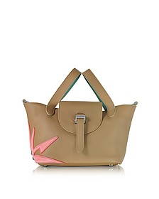 Light Tan Wonderplant Thela Mini Cross Body Bag  - Meli Melo