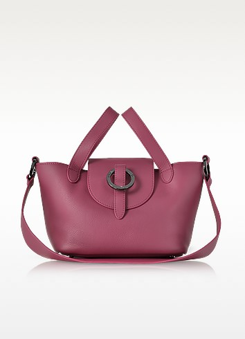 Fuchsia Rose Thela Mini Cross Body Bag - Meli Melo