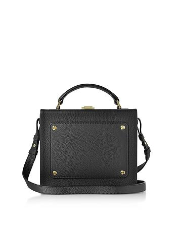 Meli Melo - Black Leather Art Bag