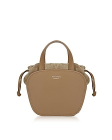 Rosetta Light Tan Leather Crossbody Bag - Meli Melo