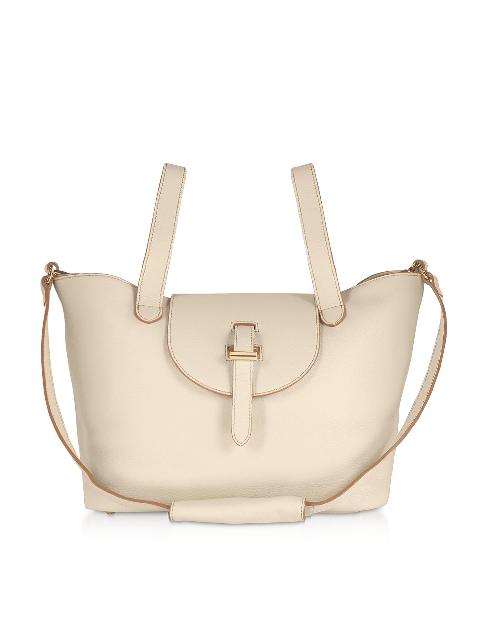 Meli Melo Designer Handbags, Porcelain Thela Medium Tote Bag