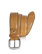 Lux-ID 208373 Cognac Smooth Leather Belt