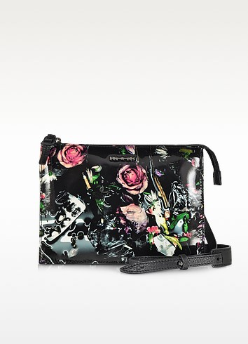 Festive Floral Across The Body Bag - McQ Alexander McQueen