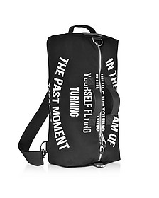 Black Canvas Gym Bag - McQ Alexander McQueen