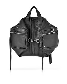 Loveless Convertible Tasche aus Leder in schwarz - McQ by Alexander McQueen