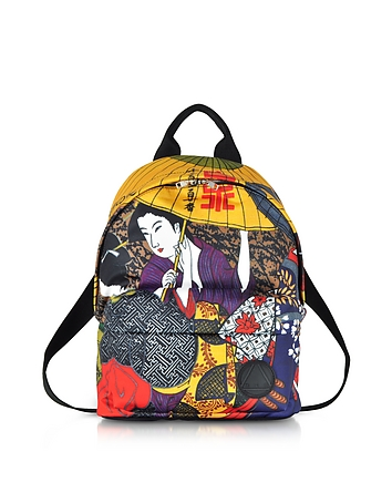 McQ Alexander McQueen Kimono Girl Nylon Backpack
