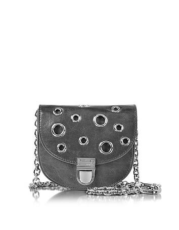 McQ Alexander McQueen - Dark Gray Leather Medium Coin Purse