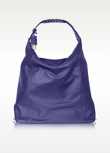 McQ - Oversized Leather Hobo - McQ Alexander McQueen