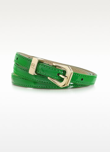 Eco Leather Skinny Belt - McQ Alexander McQueen
