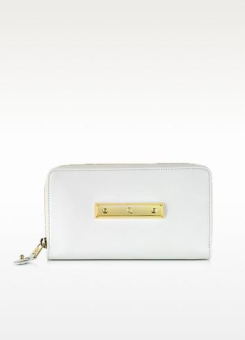 Zip Around Leather Wallet - McQ Alexander McQueen