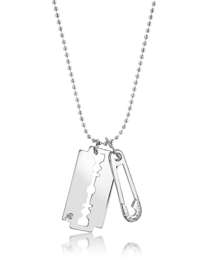 Razor Pendant Necklace - McQ Alexander McQueen