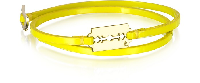 Mini Razor Double Wrap Bracelet - McQ by Alexander McQueen