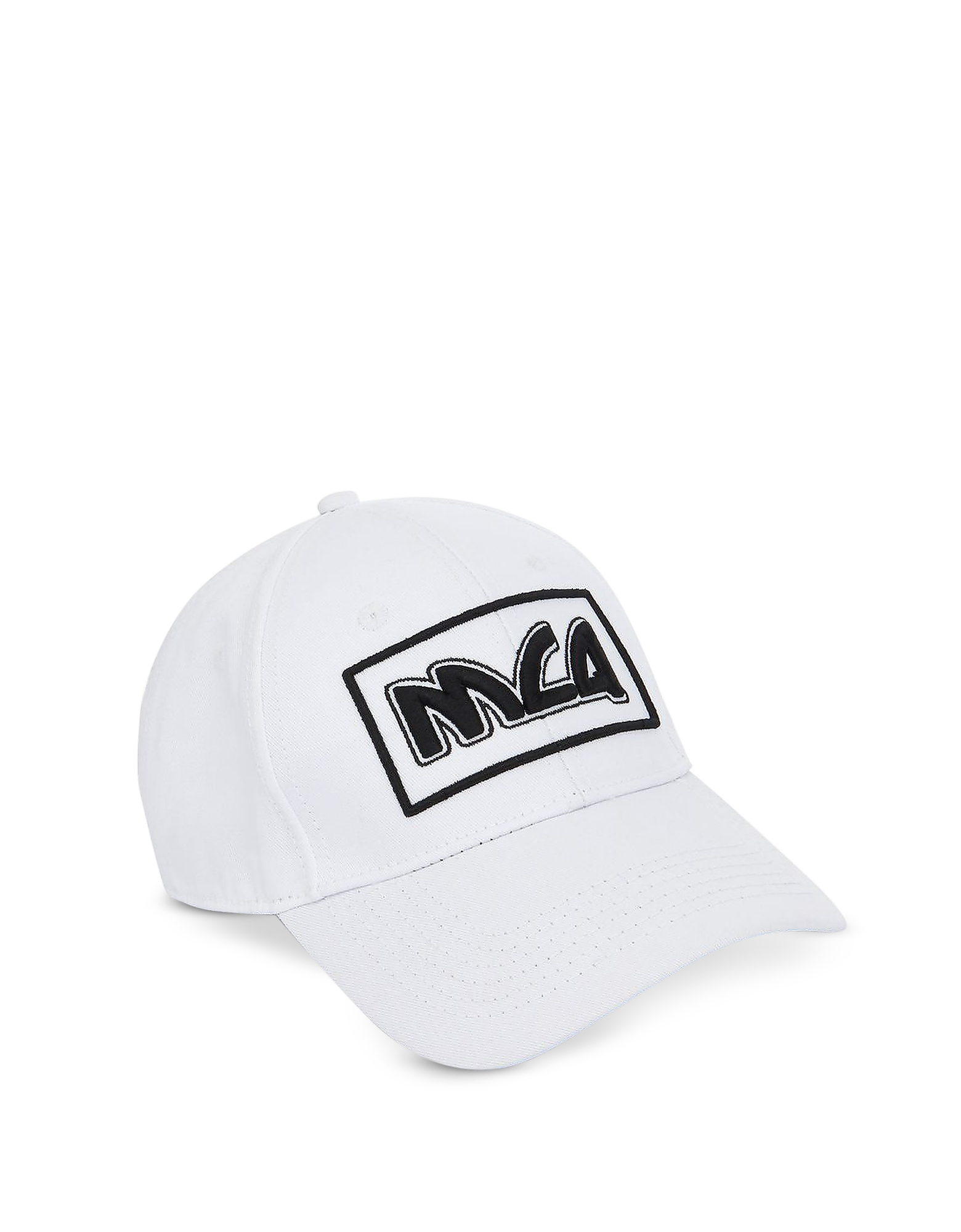 Metal Logo Cotton Baseball Cap