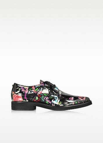 Festival Floral Patterned Leather Kim Derby - McQ Alexander McQueen