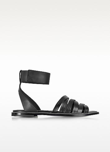 Erin Criss Cross Flat Sandal - McQ Alexander McQueen