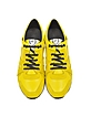 McQ Runner Yellow Leather Sneaker - McQ Alexander McQueen