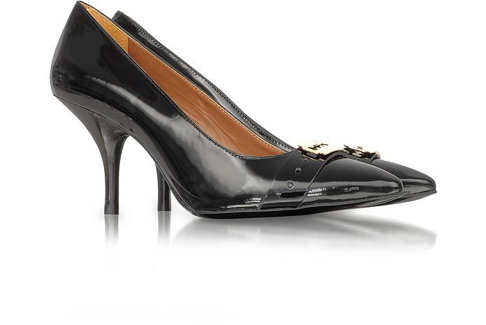 Black Patent Leather Court Shoes - McQ Alexander McQueen