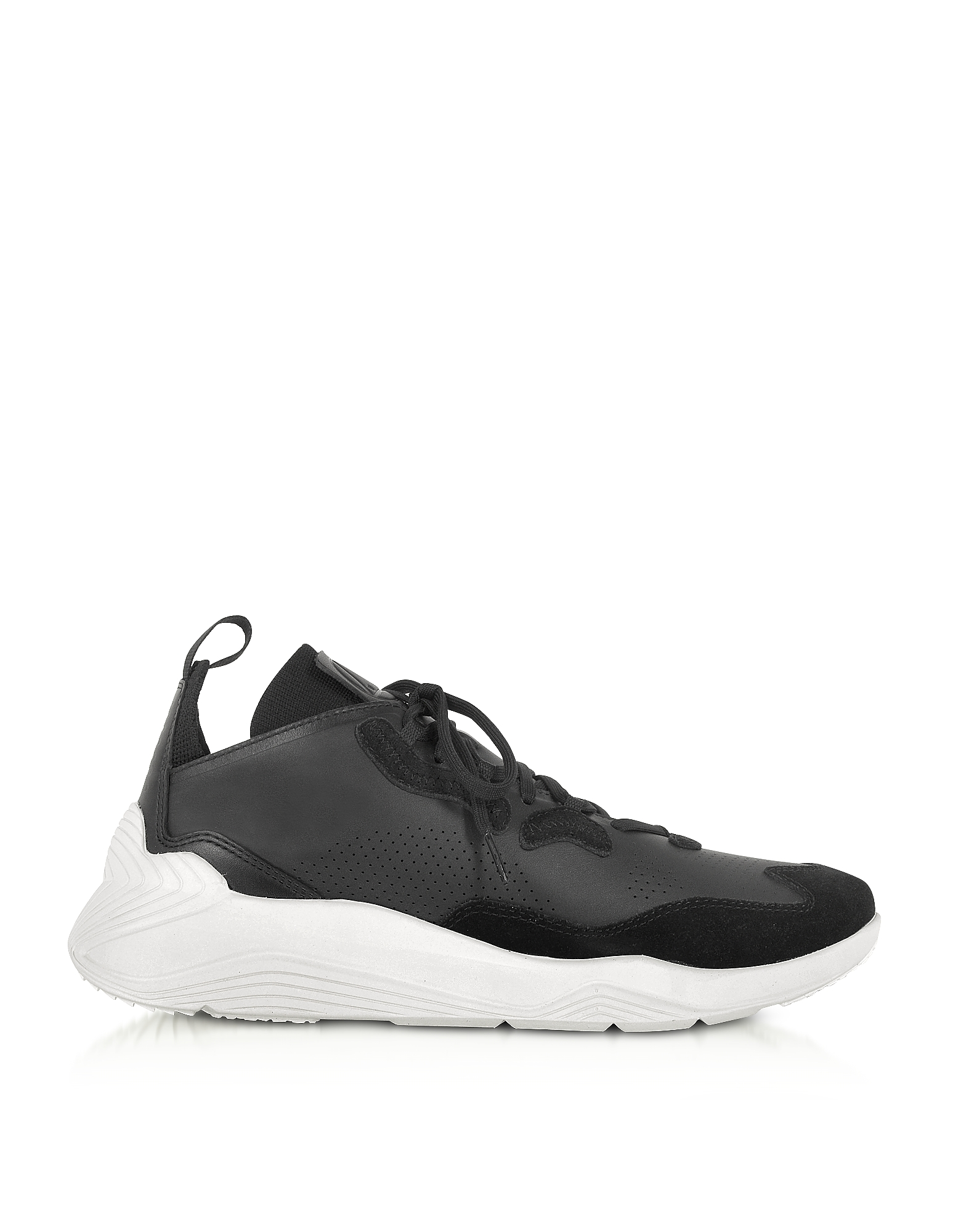 McQ Alexander McQueen Designer Shoes, Gishiki 3.0 Black Men's Sneakers