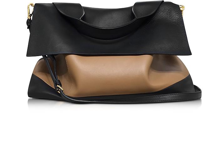 Colorblock Nappa Leather City Pod Bag - Marni
