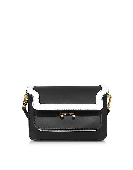 Foto Marni Mini Trunk Bag Borsa in Pelle color Block Borse donna