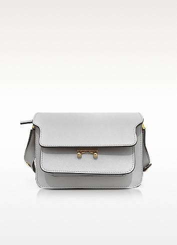 Pelican Saffiano Leather Mini Trunk Bag - Marni