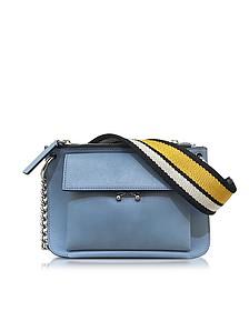 Opal Leather Pocket Bandoleer Bag - Marni