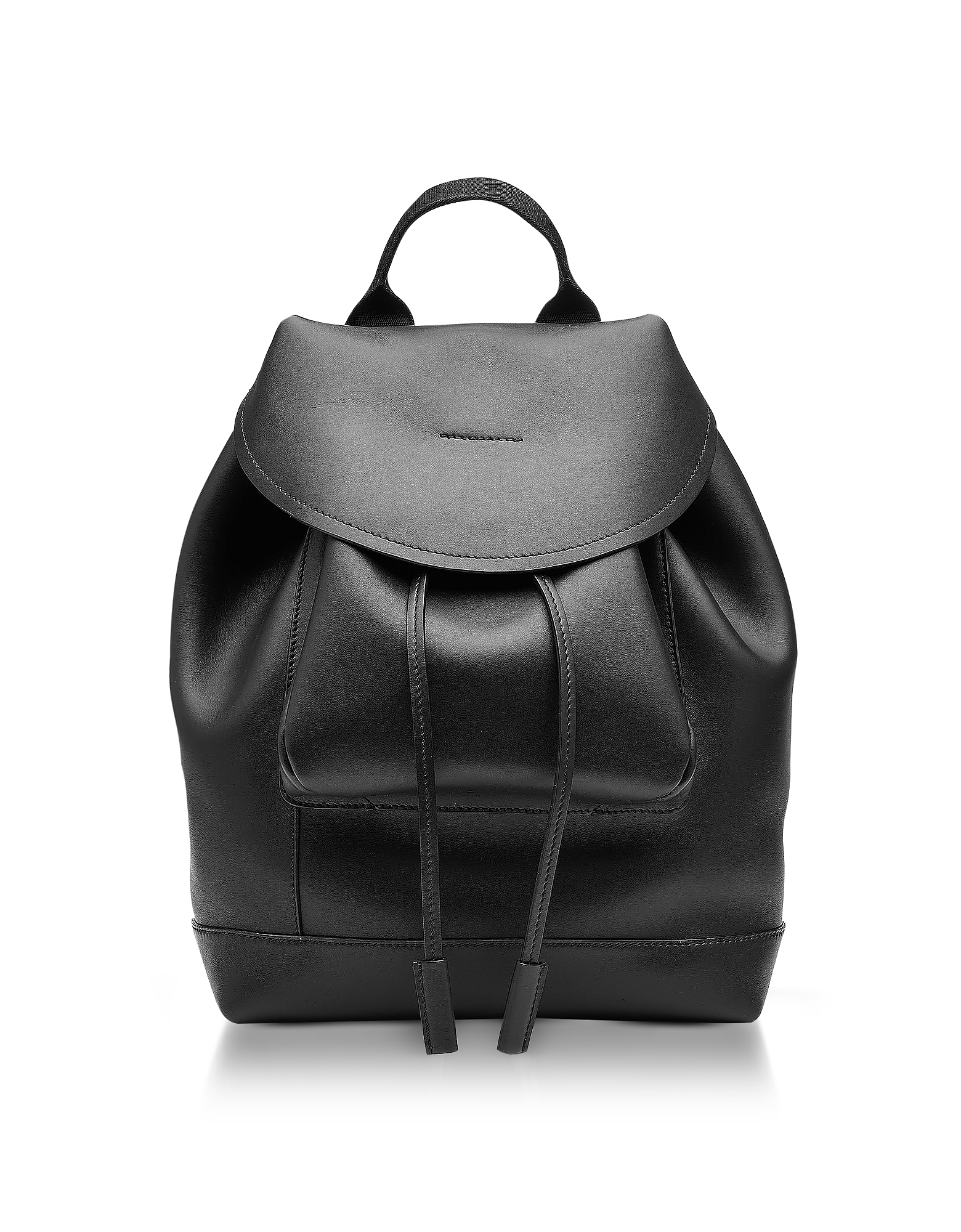 Marni Handbags, Black Leather Kit Backpack