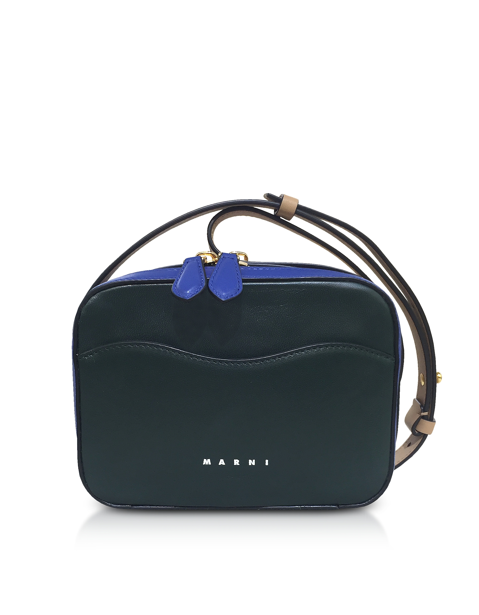 Marni Handbags, Nappa Leather Shell Shoulder Bag