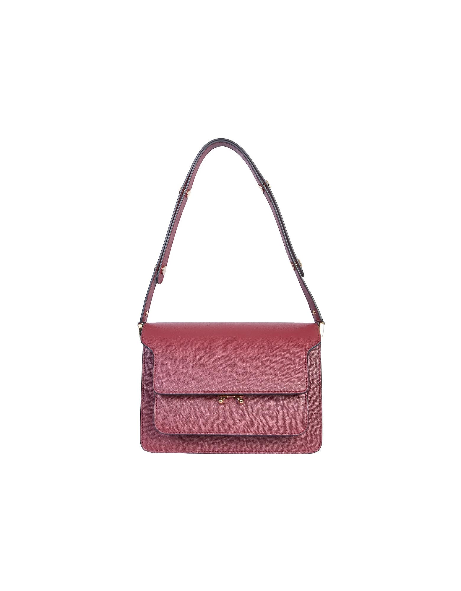Marni Designer Handbags, Trunk Shoulder Bag