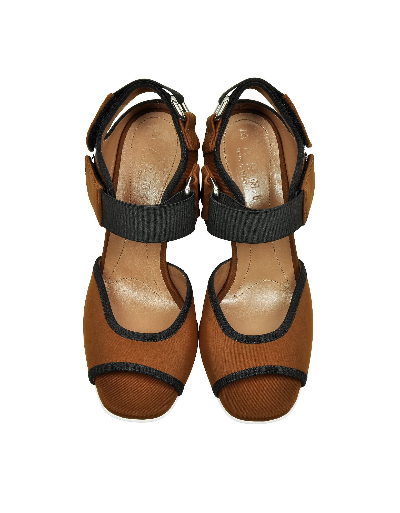 Tobacco Techno Fabric One Band Sandal от Forzieri INT